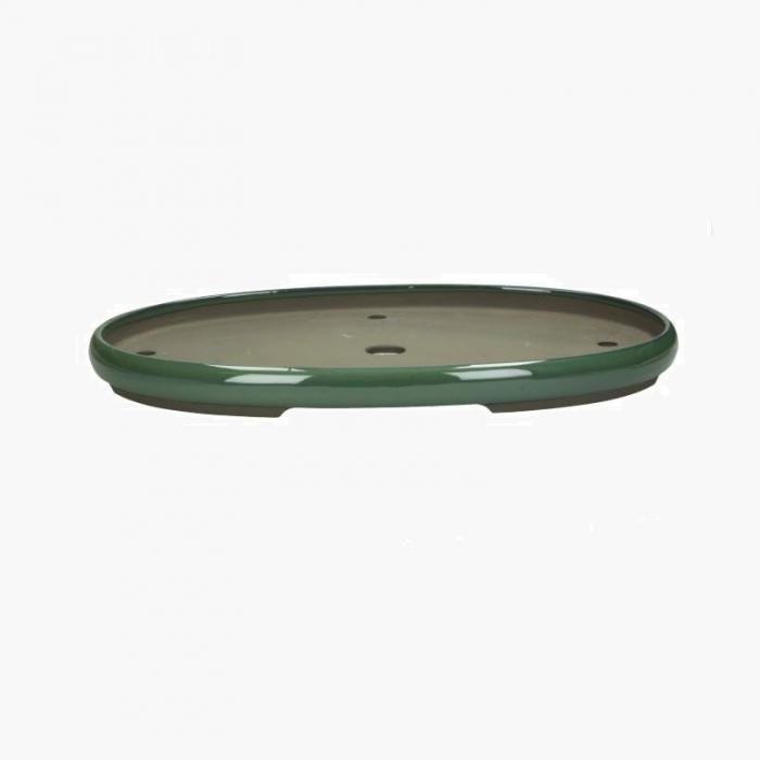 Vaso 57 cm ovale verde