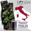Abbonamento annuale con raccoglitore ITALIA BONSAI & news