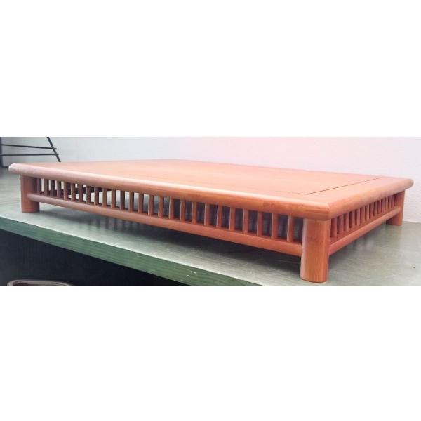 Tavolino rettangolare in legno - 65x45x9,5 cm