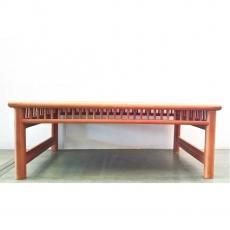 Tavolino rettangolare in legno - 65x45x25 cm