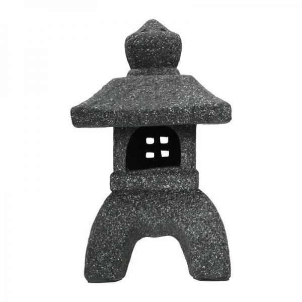 Grey square lantern