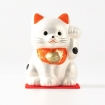 Maneki Neko - Left Paw - Pearly