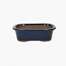 Pot 25 cm irregular green