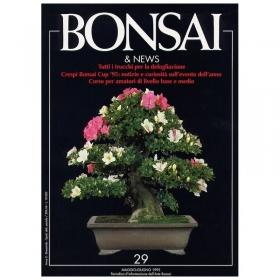 BONSAI & news n.  29 - Maggio-Giugno 1995