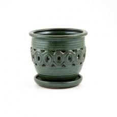 Pot 19 cm ronde vert