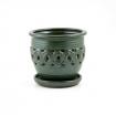 Pot 15 cm rond green