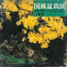 Catalogue Kokufu Bonsai Exhibition n° 55 - Ans 1981 Vintage Edition
