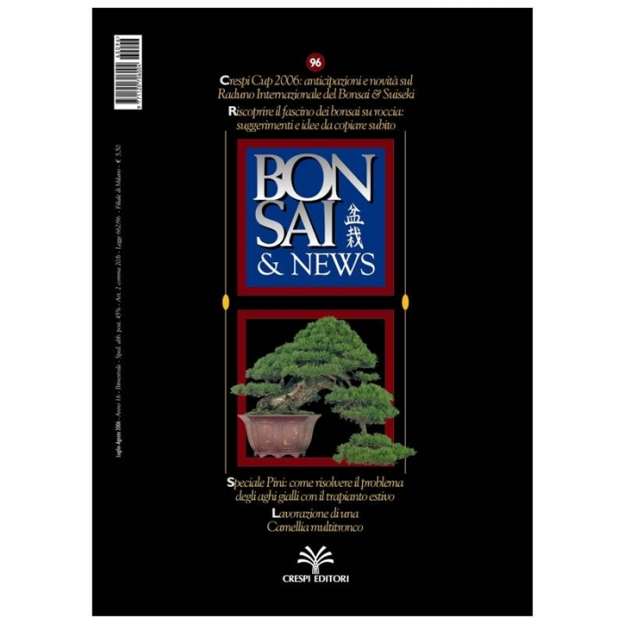 BONSAI & news n.  96 - Luglio-Agosto 2006