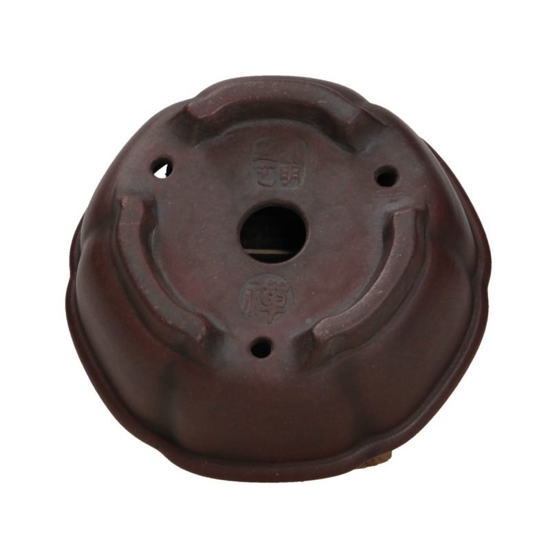 Pot 11 cm round grès - Shuiming