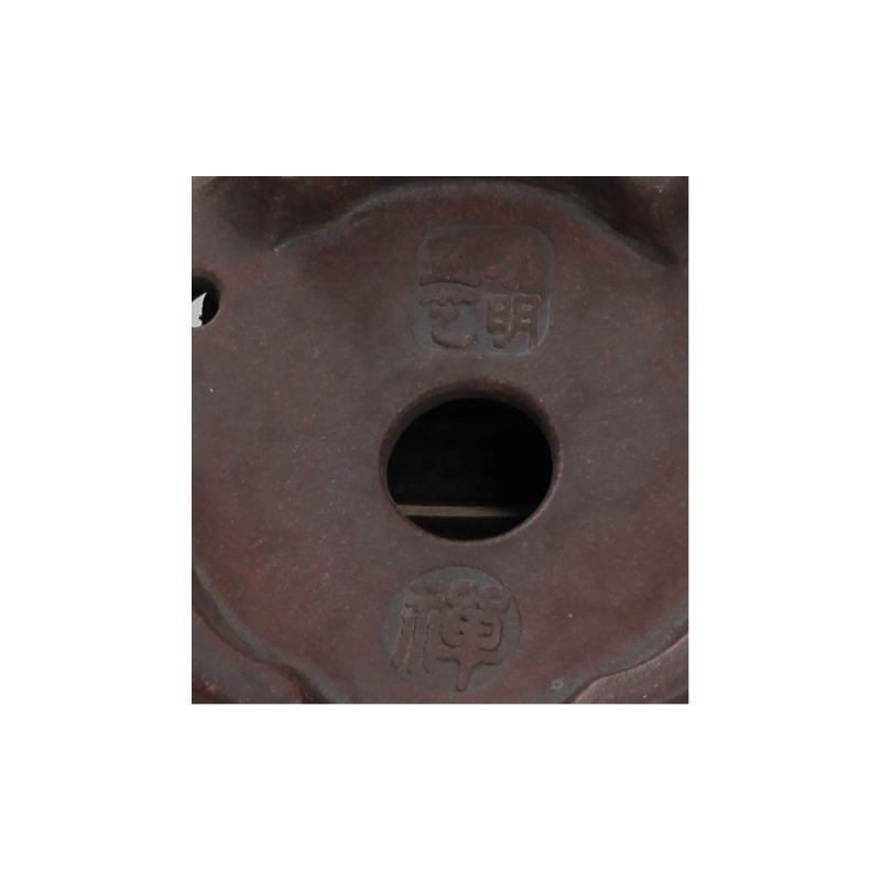 Vaso 11 cm tondo grès - Shuiming