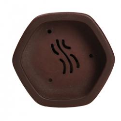 Vaso 9,5 cm esagonale grès - Shuiming