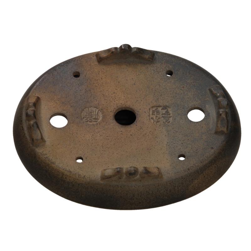 Vaso 14,3 cm ovale - Shuiming