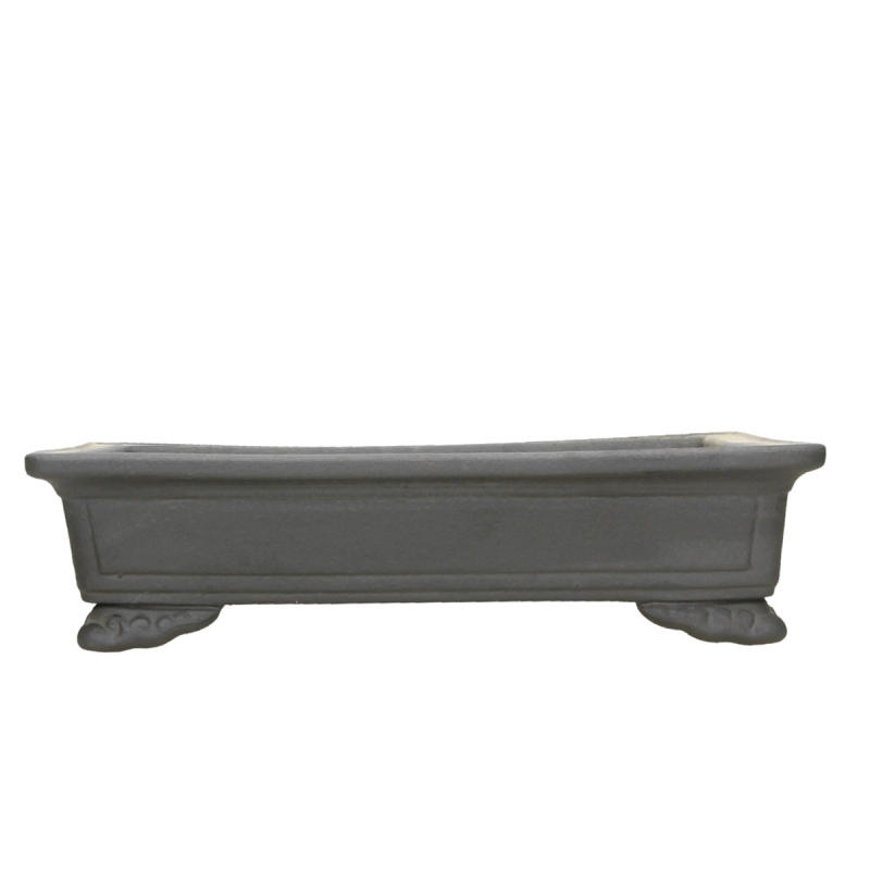 Pot 32 cm rectangular gres