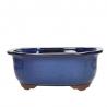 Pot 28,5 cm lobé bleu