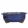 Pot 31,5 cm lobé bleu