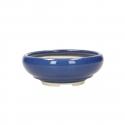 Vaso 17 cm tondo blu