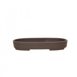 Vaso 16,3 cm ovale gres