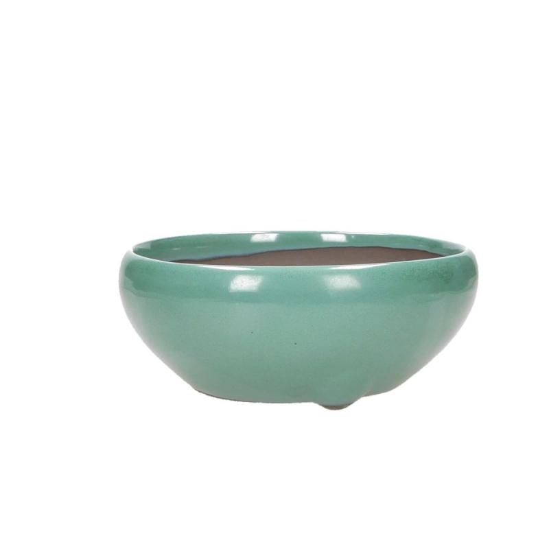 Pot 18 cm rond vert