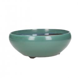 Pot 22,8 cm round green