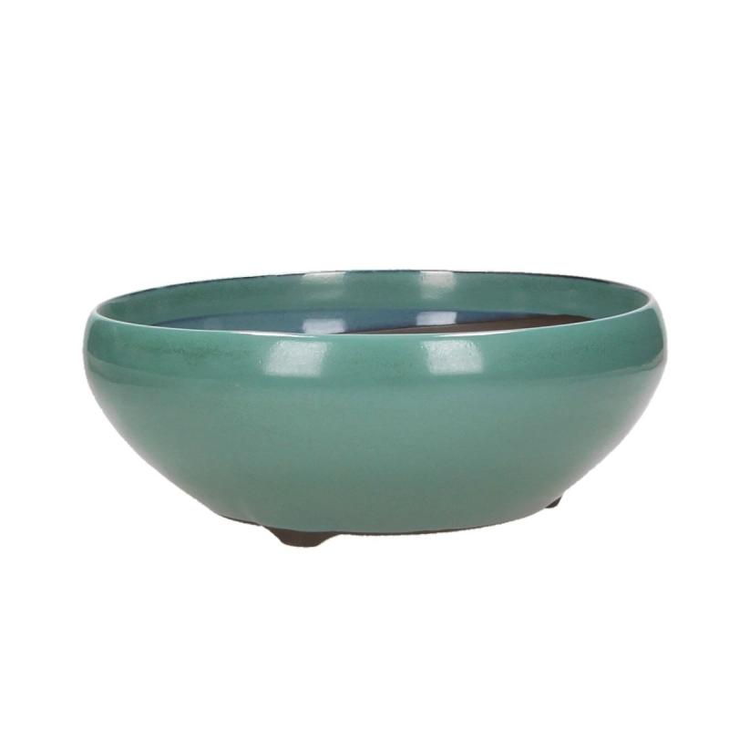 Vaso 22,8 cm tondo verde