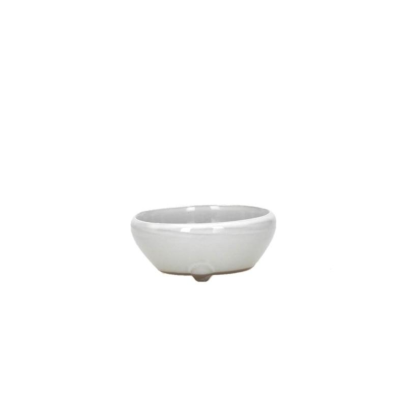 Pot 10 cm round beige