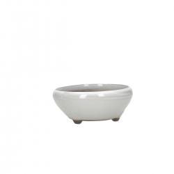 Pot 12 cm round beige