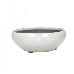 Pot 22,8 cm round beige