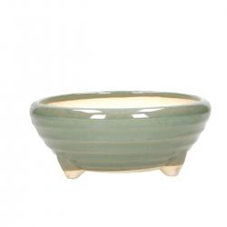 Vaso 19,5 cm tondo verde