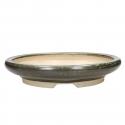 Pot 37 cm round green