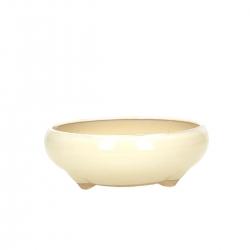 Pot 14,5 cm round beige