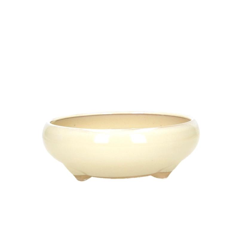 Pot 14,5 cm rond beige