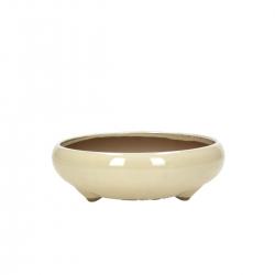Pot 17,2 cm round beige
