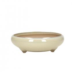 Pot 20,4 cm round beige