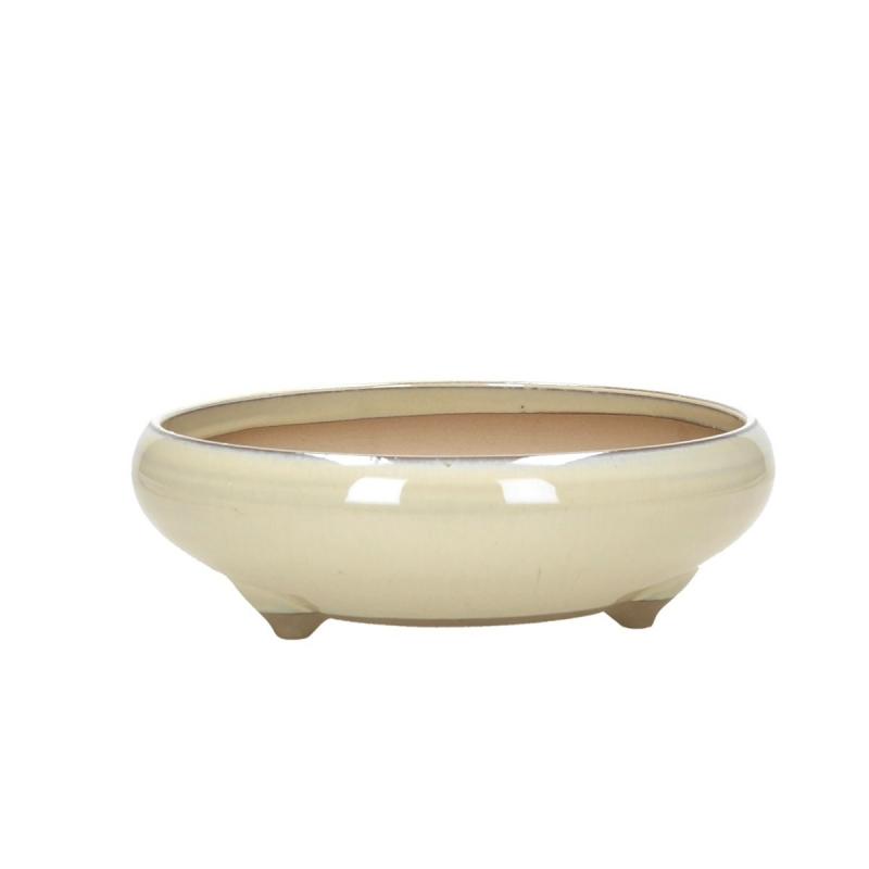 Pot 20,4 cm rond beige