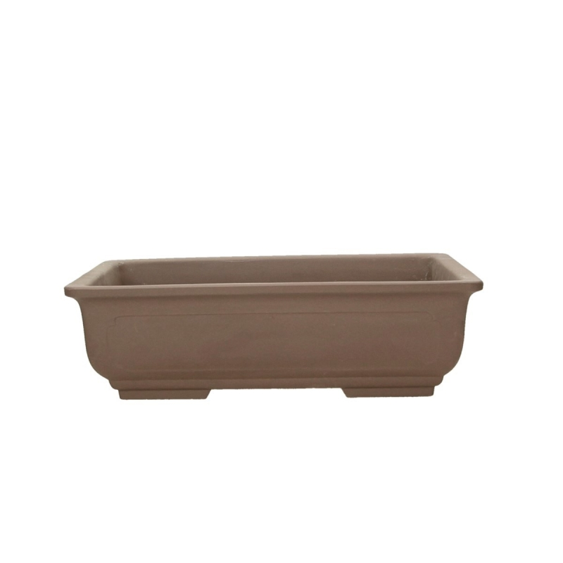 Pot 27,5 cm rectangular gres
