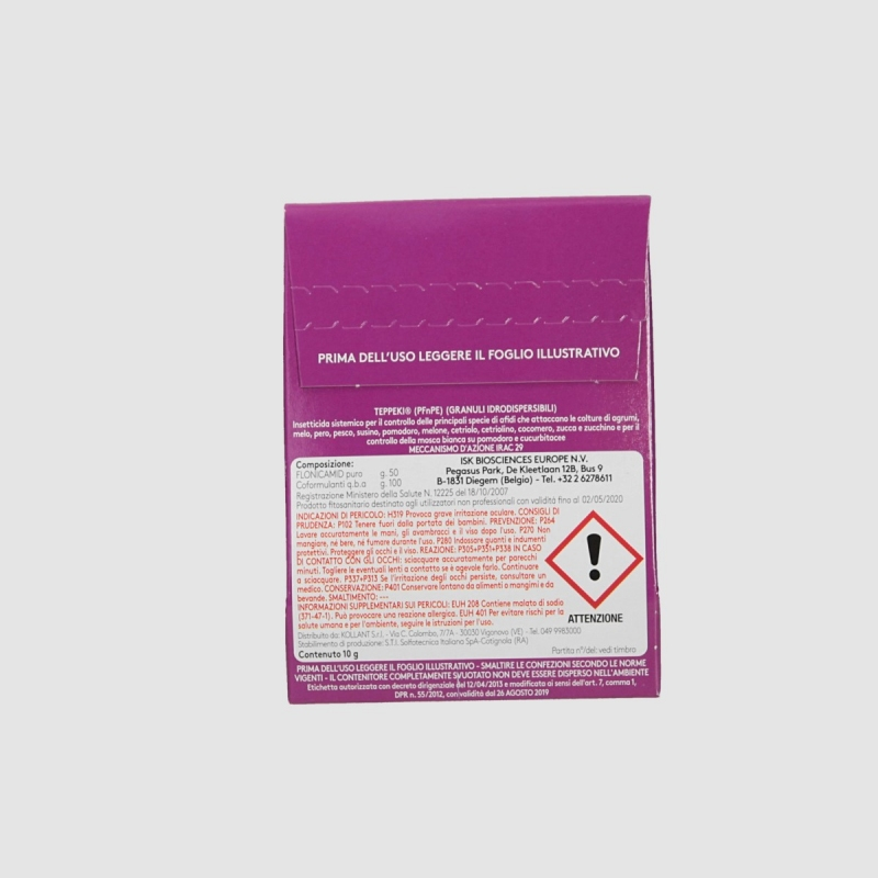 Systemic insecticide water-soluble Teppeki 10gr