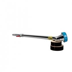 Lancia in metallo per tubo di annaffio con rubinetto - 55 cm - A553/05