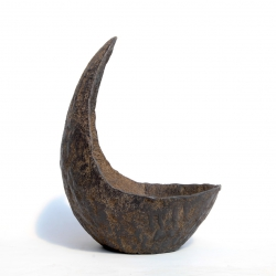 Vaso in pietra Niijima 40 cm luna