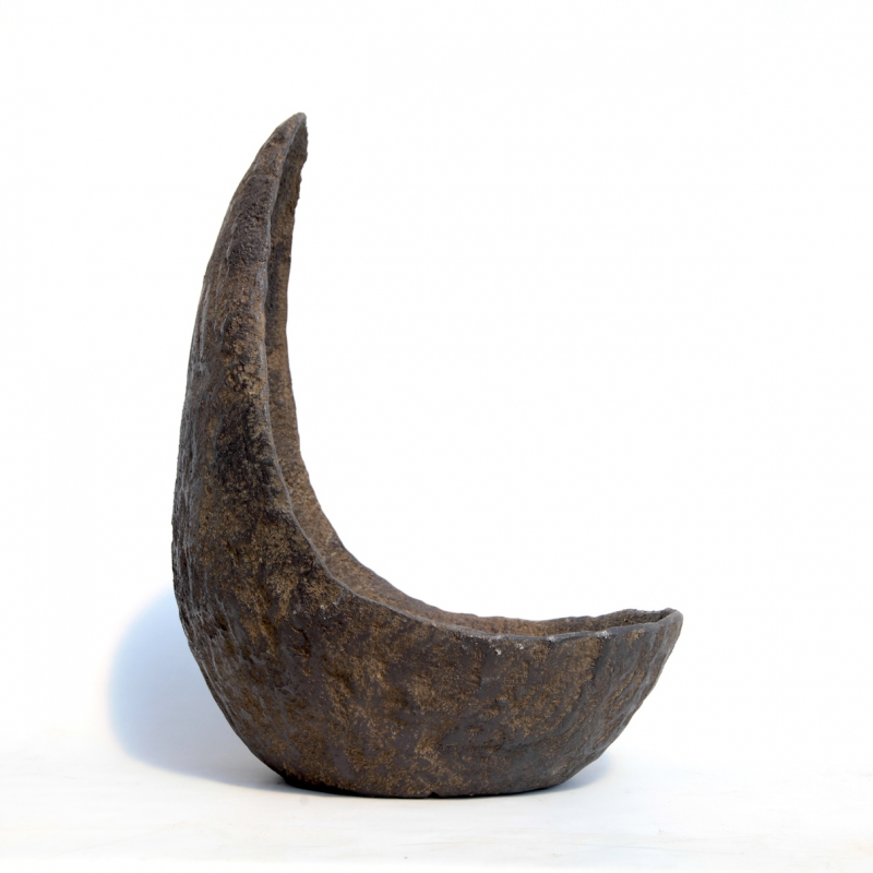 Vaso in pietra Niijima 50 cm luna