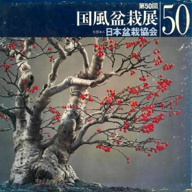 Catalogo Kokufu Bonsai Exhibition n° 50 - Anno 1976 Vintage Edition