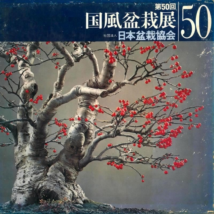 Catalogo Kokufu Bonsai Exhibition n° 50 - Anno 1976 Vintage Edition