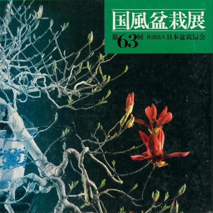Catalogo Kokufu Bonsai Exhibition n° 63 - Anno 1989 Vintage Edition