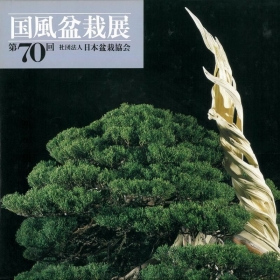 Catalogo Kokufu Bonsai Exhibition n° 70 -  Anno 1996