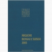 Catalog UBI Migliori Bonsai e Suiseki 2003